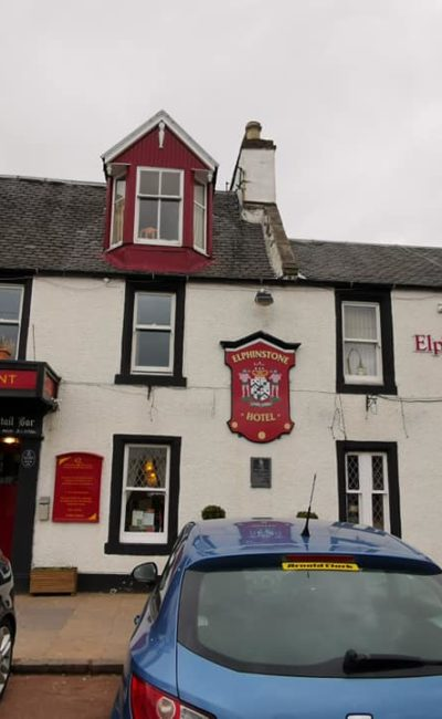 Elphinstone Hotel Biggar Review AD Gifted